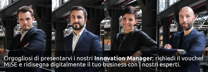 Orgogliosi di presentarvi i nostri Innovation Manager